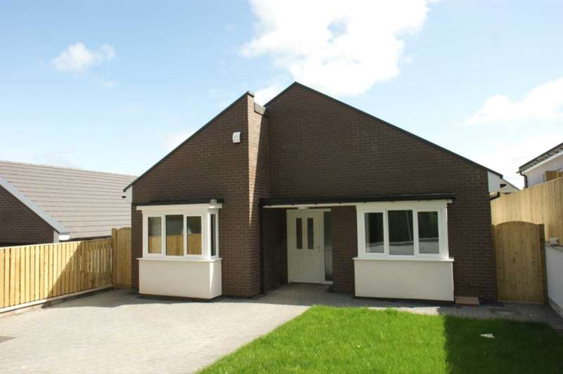 3 Bedrooms Detached Bungalow for sale in 4 Clos Llwyn Onn, Fron Park Road, Holywell, Flintshire. CH8 7UD