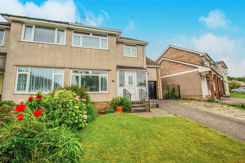 4 Bedrooms Semi Detached House for sale in Dochdwy Road, Llandough, Penarth