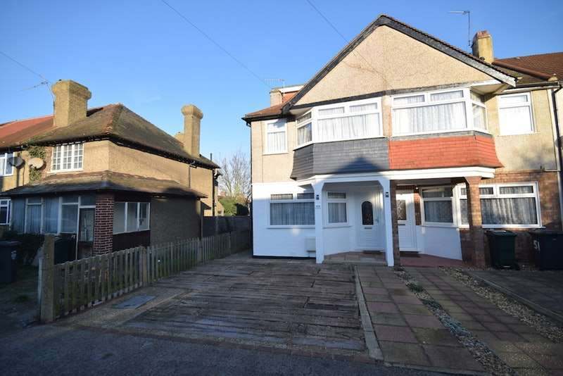 3 Bedrooms End Of Terrace House for sale in Hallford Way, Dartford, Kent, DA1