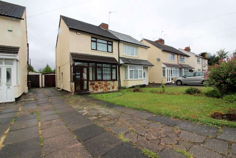 3 Bedrooms Semi Detached House for sale in Lucknow Road, Willenhall