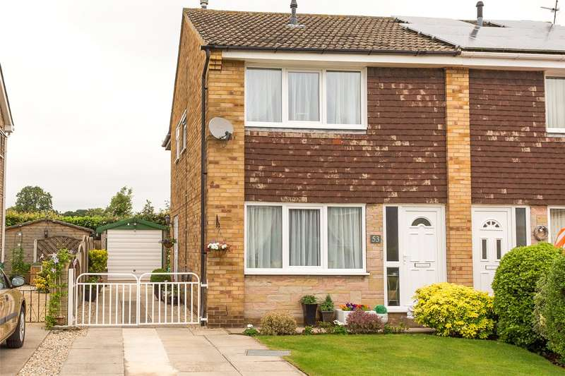 3 Bedrooms Semi Detached House for sale in Myrtle Avenue, Selby, YO8