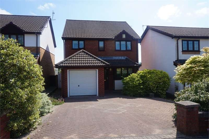 3 Bedrooms Detached House for sale in Magnolia Drive, BLACKWOOD, NP12