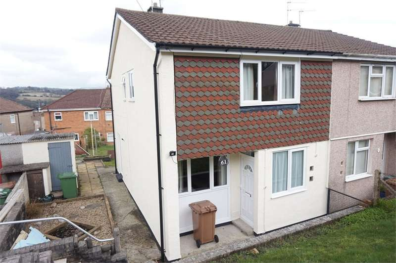 2 Bedrooms Semi Detached House for sale in Albany Road, Blackwood, NP12