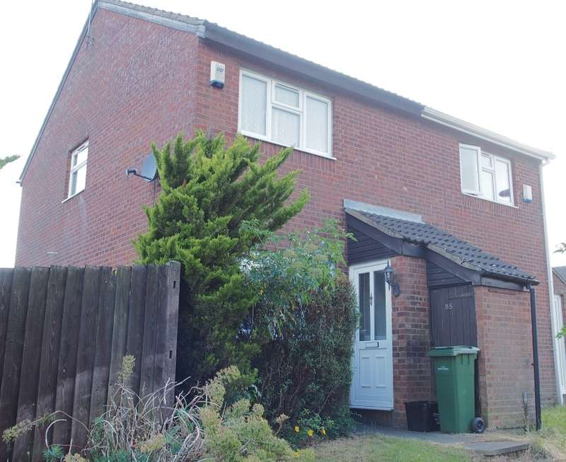 2 Bedrooms Semi Detached House for sale in Repton Close, Luton, Bedfordshire, LU3 3UP