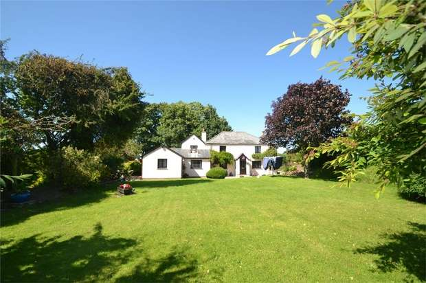 4 Bedrooms Detached House for sale in KENTISBURY, North Devon