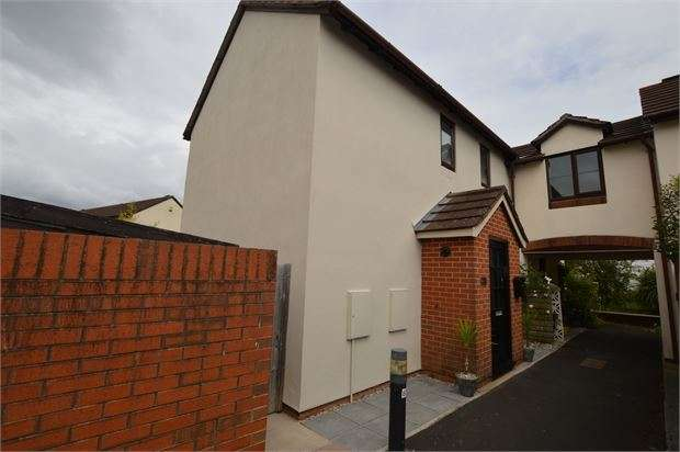 2 Bedrooms Semi Detached House for sale in Templers Road, Newton Abbot, Devon. TQ12 2AX