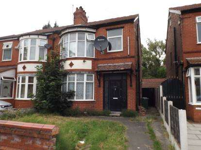 3 Bedrooms Semi Detached House for sale in Moseley Road, Levenshulme, Manchester, Greater Manchester