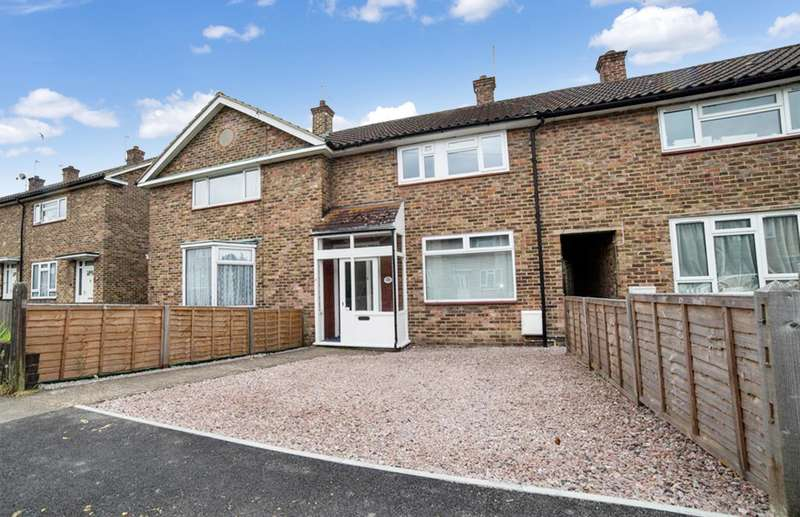3 Bedrooms Terraced House for sale in Huddlestone Crescent, Merstham, RH1 3JS