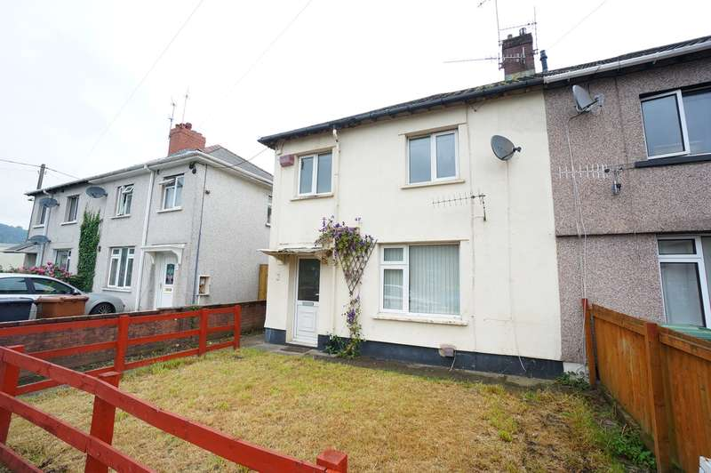 3 Bedrooms Semi Detached House for sale in Springfield Road, Risca, Newport, NP11