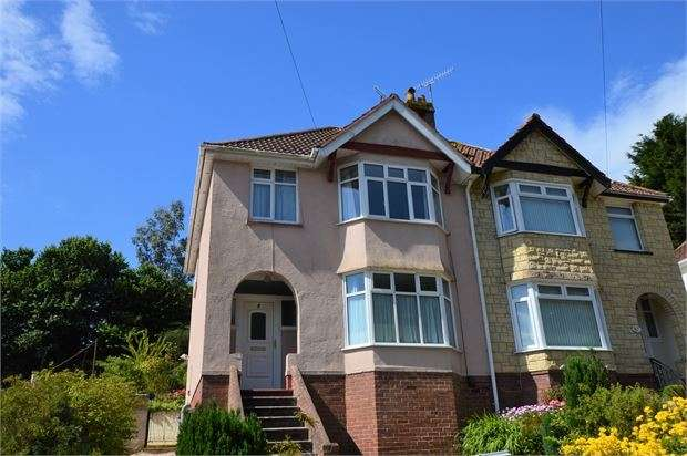 3 Bedrooms Semi Detached House for sale in Occombe Valley Road, Preston, Paignton, Devon. TQ3 1QX
