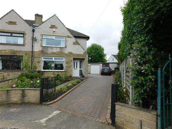 3 Bedrooms Semi Detached House for sale in Farringdon Grove, Bradford