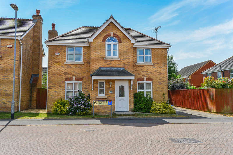 4 Bedrooms Detached House for sale in Riveraine Close, SUTTON-IN-ASHFIELD, NG17