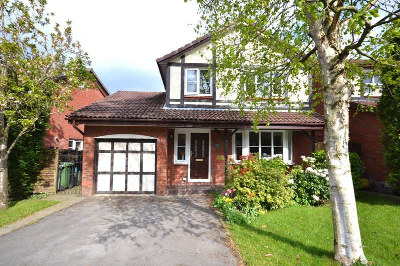 4 Bedrooms Detached House for sale in Home Farm Avenue, Macclesfield
