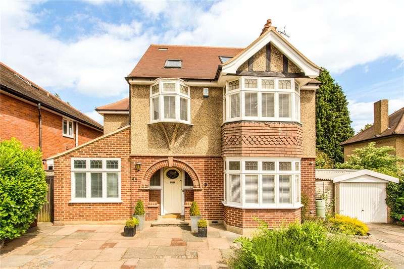 5 Bedrooms Detached House for sale in Battlefield Road, St. Albans, Hertfordshire, AL1
