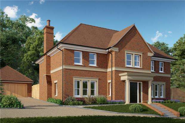 6 Bedrooms Detached House for sale in Murrell Hill, Binfield