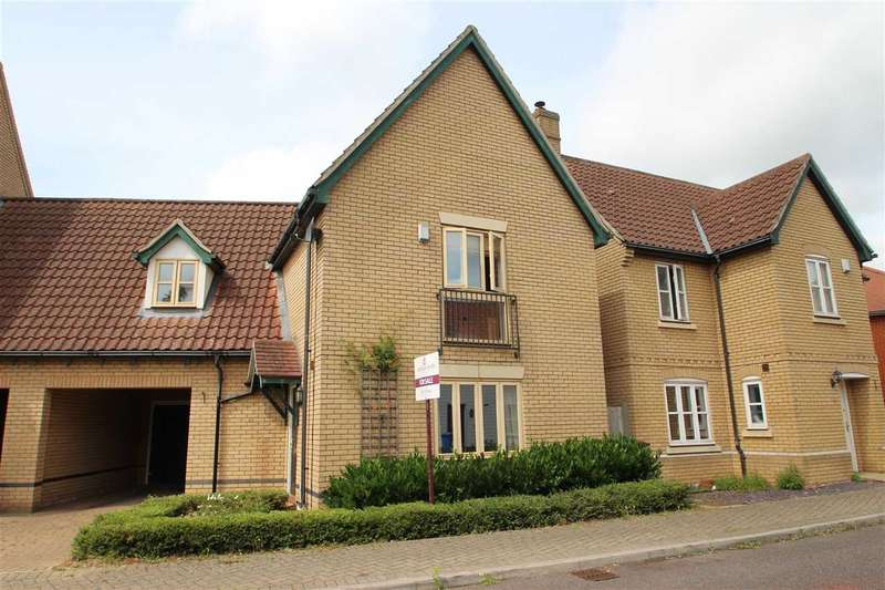 4 Bedrooms Link Detached House for sale in Havergate Road, Ravenswood, Ipswich
