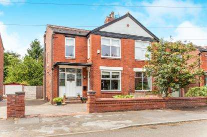 4 Bedrooms Semi Detached House for sale in Ashwood Avenue, West Didsbury, Manchester