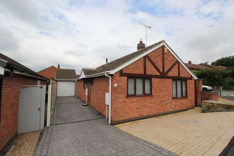 2 Bedrooms Detached Bungalow for sale in The Chevin, Stretton, Burton-On-Trent, DE13