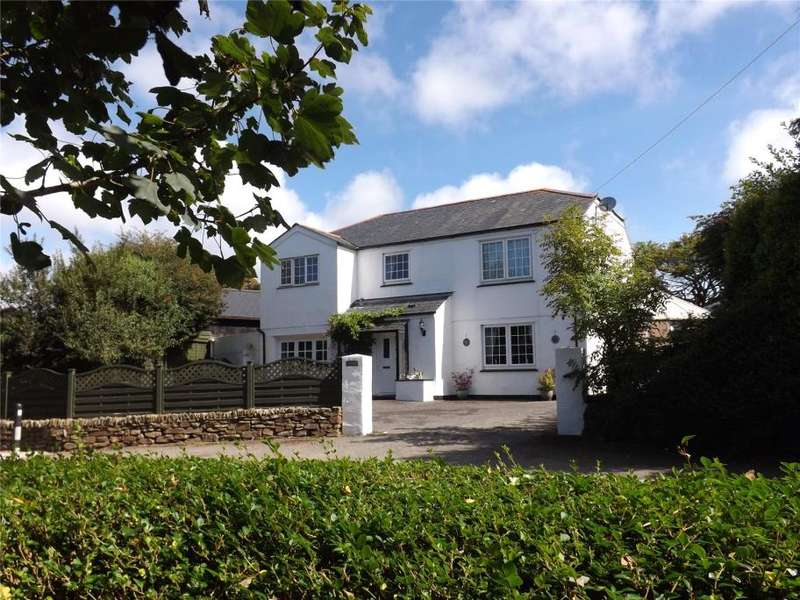 4 Bedrooms Detached House for sale in Penhallow, Nr Truro