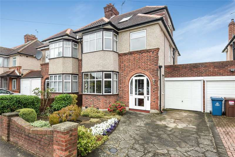 4 Bedrooms Semi Detached House for sale in Manor Park Drive, Harrow, Middlesex, HA2