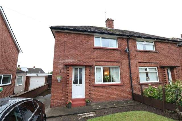 2 Bedrooms Semi Detached House for sale in Moor Park Avenue, Carlisle, Cumbria, CA2 7LZ