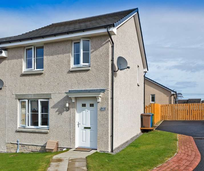 3 Bedrooms Semi Detached House for sale in Resaurie Gardens, Inverness, Highland, IV2