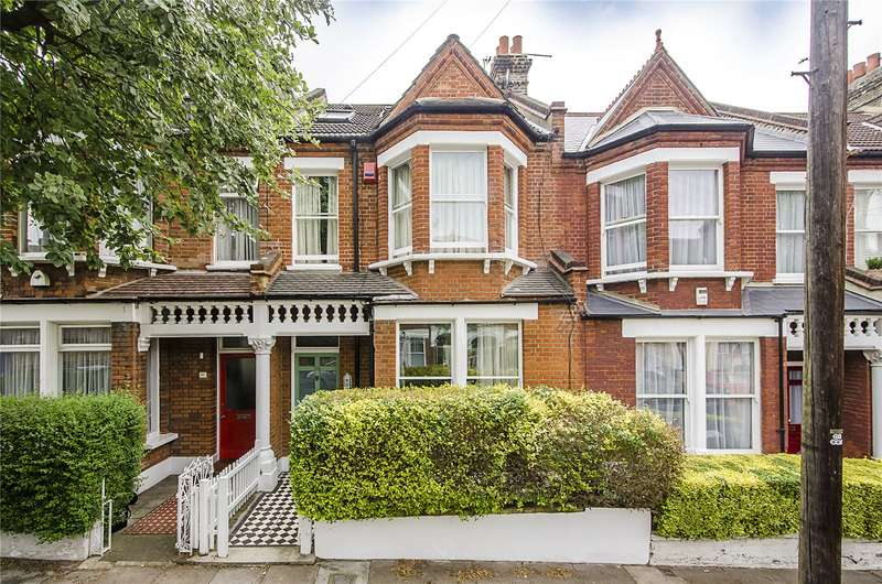 5 Bedrooms Terraced House for sale in Hambalt Road, Clapham, London, SW4
