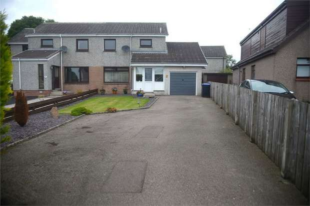 3 Bedrooms Semi Detached House for sale in Pinkie Gardens, Newmachar, Aberdeen
