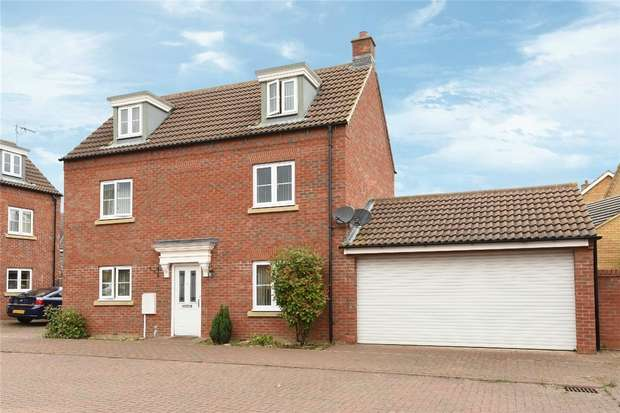 4 Bedrooms Detached House for sale in Grenadier Close, Bedford