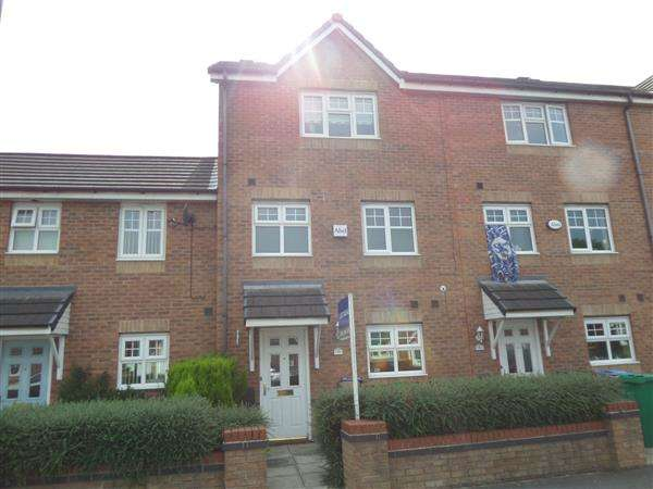 4 Bedrooms Town House for sale in Kilmaine Avenue, Moston, Manchester