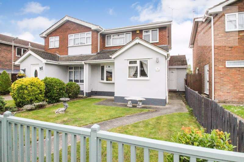 3 Bedrooms Semi Detached House for sale in Tantelen Road, Canvey Island - RELAX IN STYLE