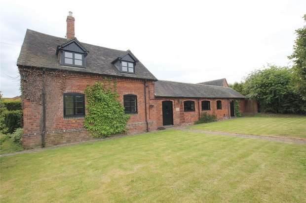 4 Bedrooms Barn Conversion Character Property for sale in Old London Road, Lichfield, Staffordshire
