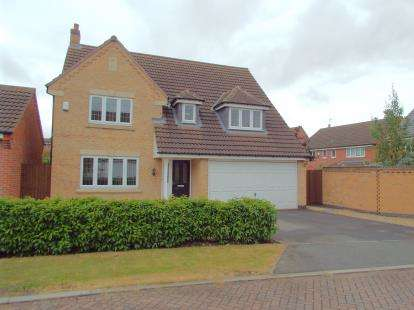 4 Bedrooms Detached House for sale in Billesdon Close, Leicester, Leicestershire