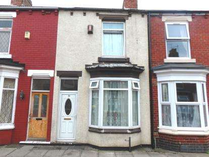 2 Bedrooms Terraced House for sale in Cadogan Street, Middlesbrough