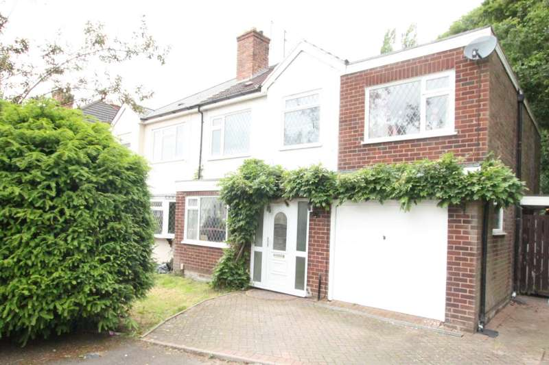 4 Bedrooms Semi Detached House for sale in The Crescent, Wolverhampton, West Midlands