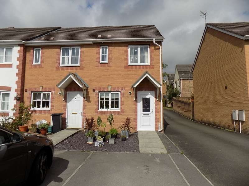 2 Bedrooms End Of Terrace House for sale in Nant Y Wiwer , Margam Village, Port Talbot, Neath Port Talbot. SA13 2XX