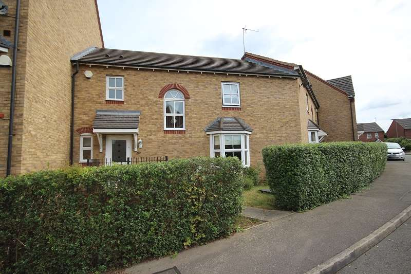 3 Bedrooms Terraced House for sale in Spencer Road, Wellingborough, Northamptonshire. NN8 2QB