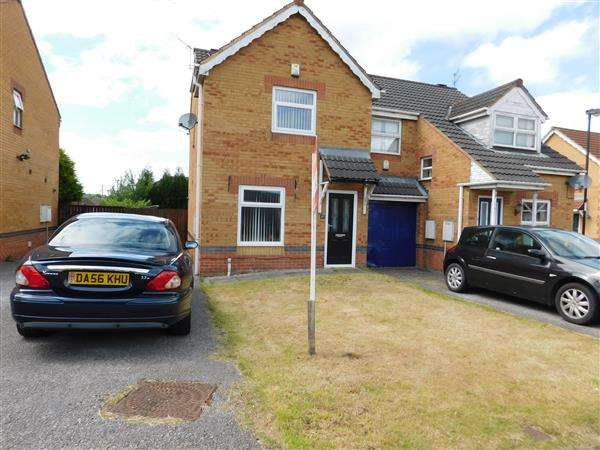 2 Bedrooms Semi Detached House for sale in Stainton Close, Bradford