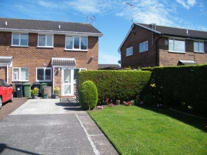 1 Bedroom Semi Detached House for sale in Commonwealth Close, Winsford, Cheshire, England