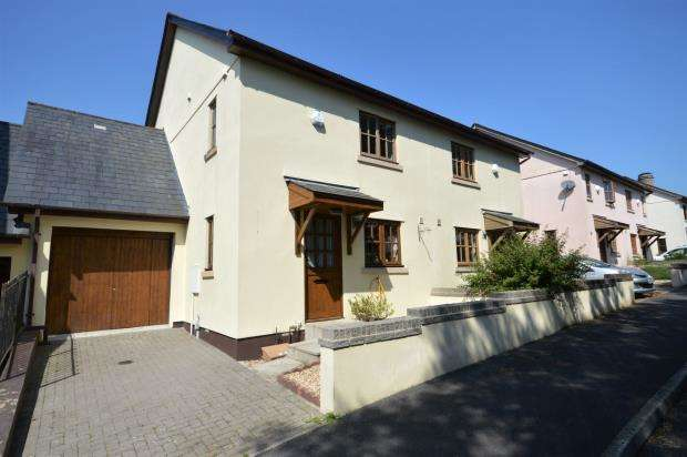 4 Bedrooms Link Detached House for sale in Pottery Yard, Liverton, Newton Abbot, Devon