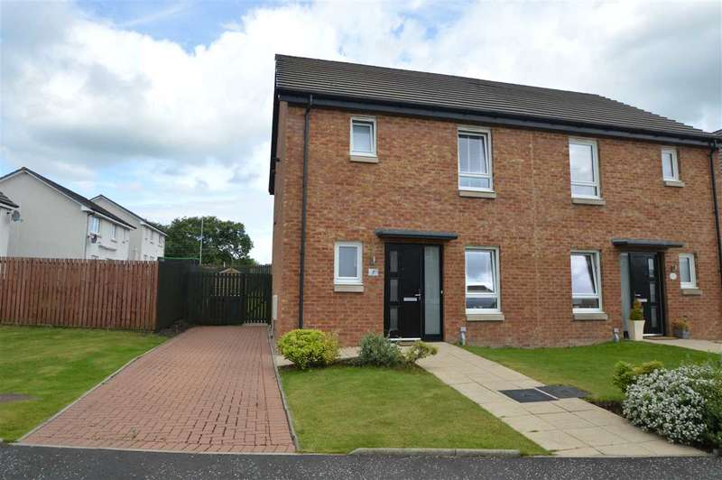 3 Bedrooms Semi Detached House for sale in Shankly Drive, Wishaw