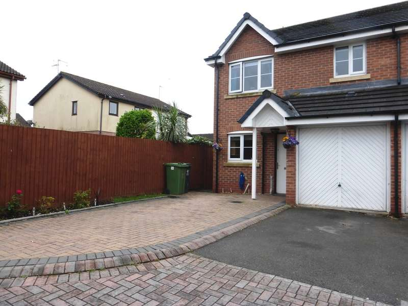 3 Bedrooms Semi Detached House for sale in Salvia Close, St. Mellons, Cardiff