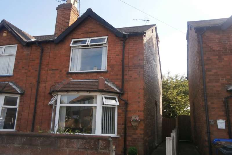 2 Bedrooms Semi Detached House for sale in Portland Road, Long Eaton, Nottingham, NG10