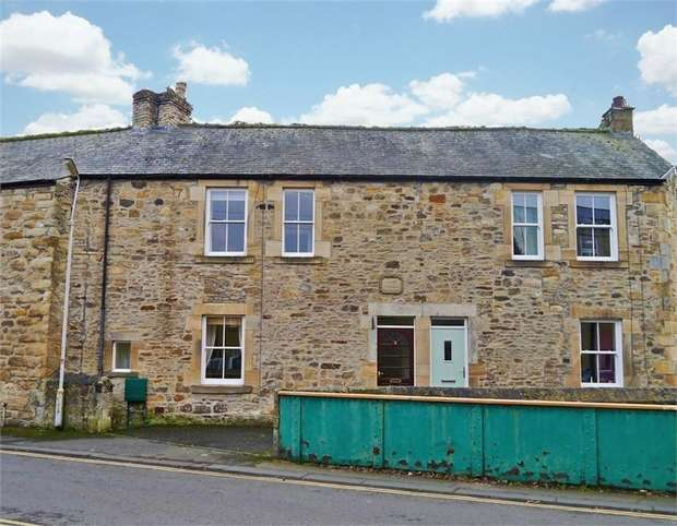 2 Bedrooms Terraced House for sale in Albion Terrace, Hexham, Northumberland