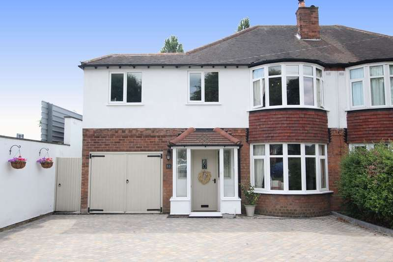 4 Bedrooms Semi Detached House for sale in Kings Road, Sutton Coldfield, B73 5AB