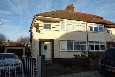 3 Bedrooms Semi Detached House for rent in Childwall Crescent, L16