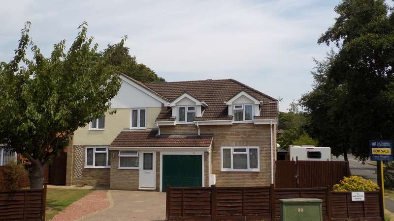 5 Bedrooms Detached House for sale in Dartington Avenue, Woodley, Reading, RG5