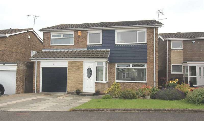 4 Bedrooms Detached House for sale in Torcross Way, Parkside Grange, Cramlington