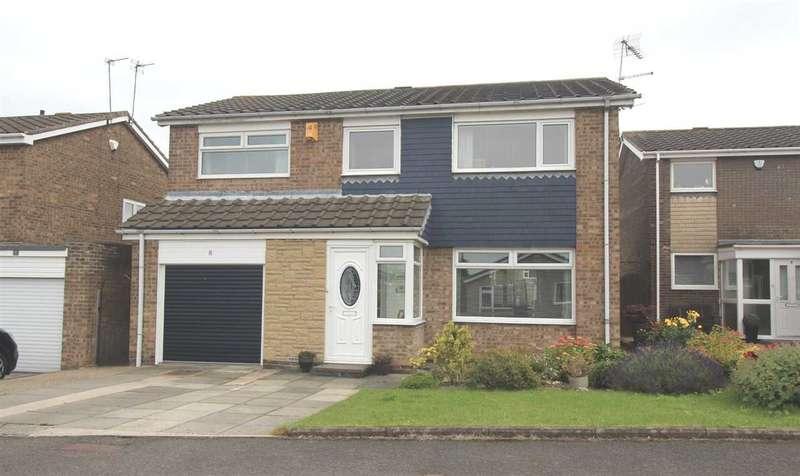 4 Bedrooms Detached House for sale in Torcross Way, Parkside Grange, Cramlington