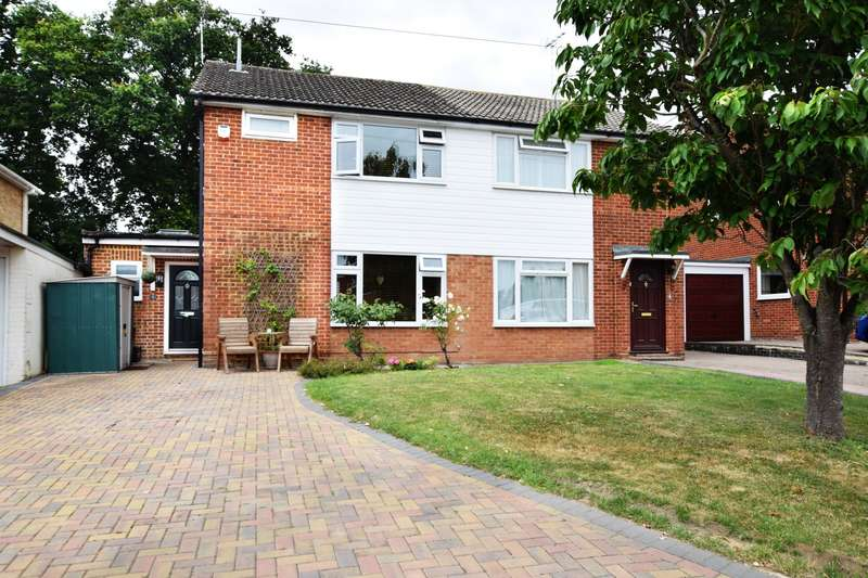 3 Bedrooms Semi Detached House for sale in Green End Close, Spencers Wood, Reading, RG7
